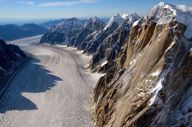 Фото Ущелье Ледника Рут. Соединенные Штаты Америки, Аляска