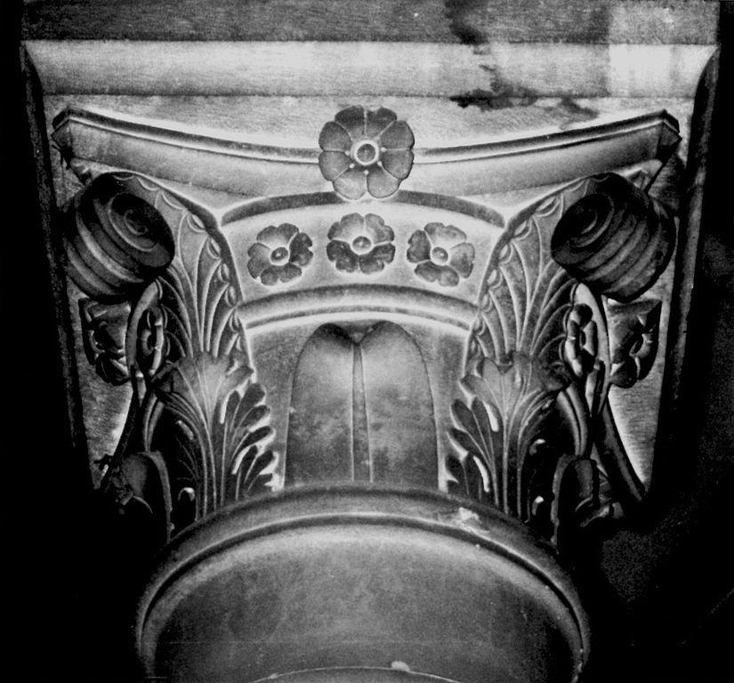 Фото Второй правый капителий . Италия, Toscana, Lucca, Vicolo Sant