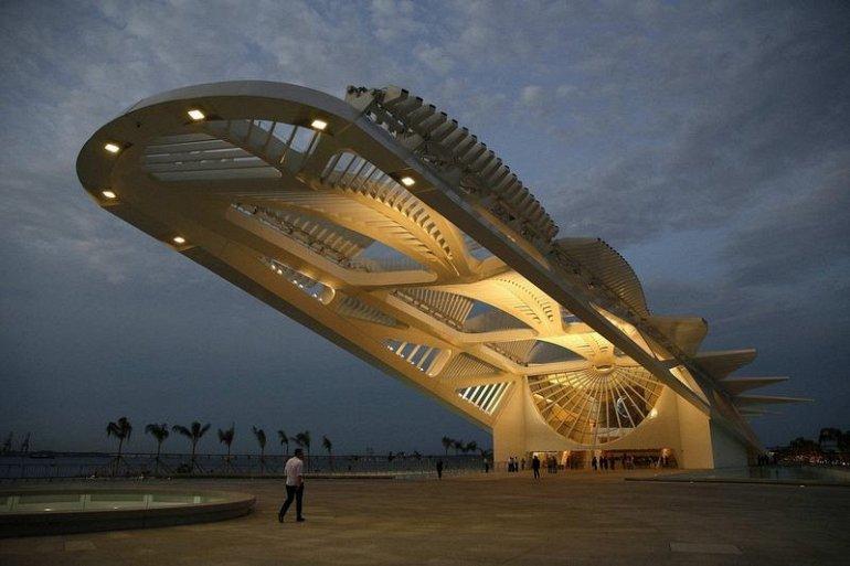 Фото Музей Завтрашнего Дня. Бразилия, Rio de Janeiro, Рио-де-Жанейро, Avenida Rodrigues Alves, 5710