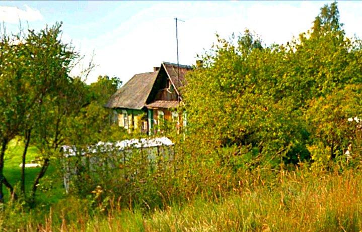 Фото  ул. Лизы Чайкиной д.13. Россия, Псковская область, Идрица, Unnamed Road