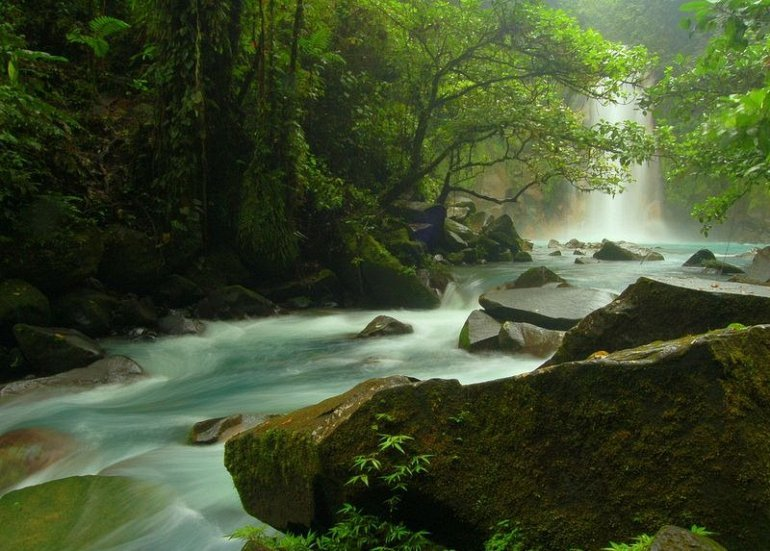 Фото Рио Селесте. Коста-Рика, Guanacaste, Unnamed Road