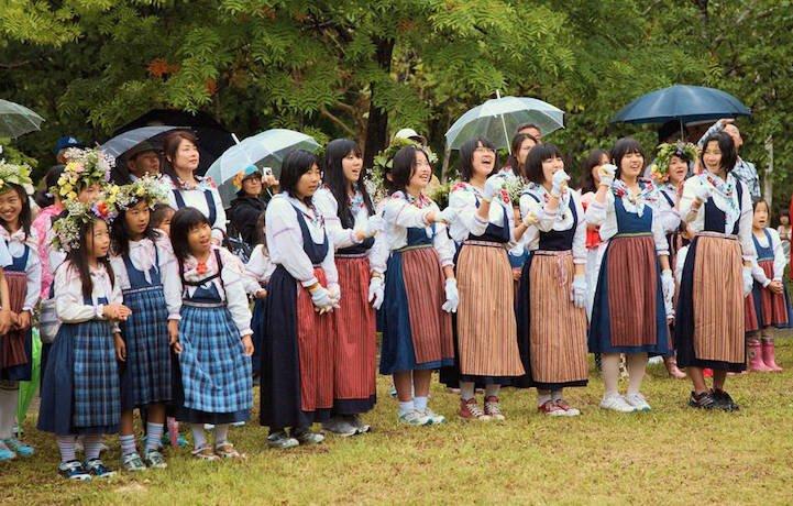 Фото Шведские Холмы (Sweden Hills). Япония, Hokkaido, Tobetsu-cho