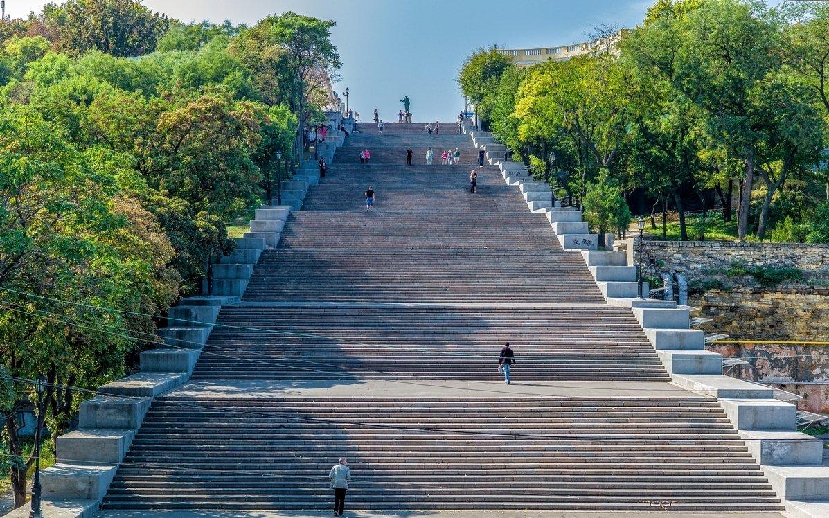 Фото Потемкинская лестница. Украина, Одеська область, Одеса, Потьомкінські сходи