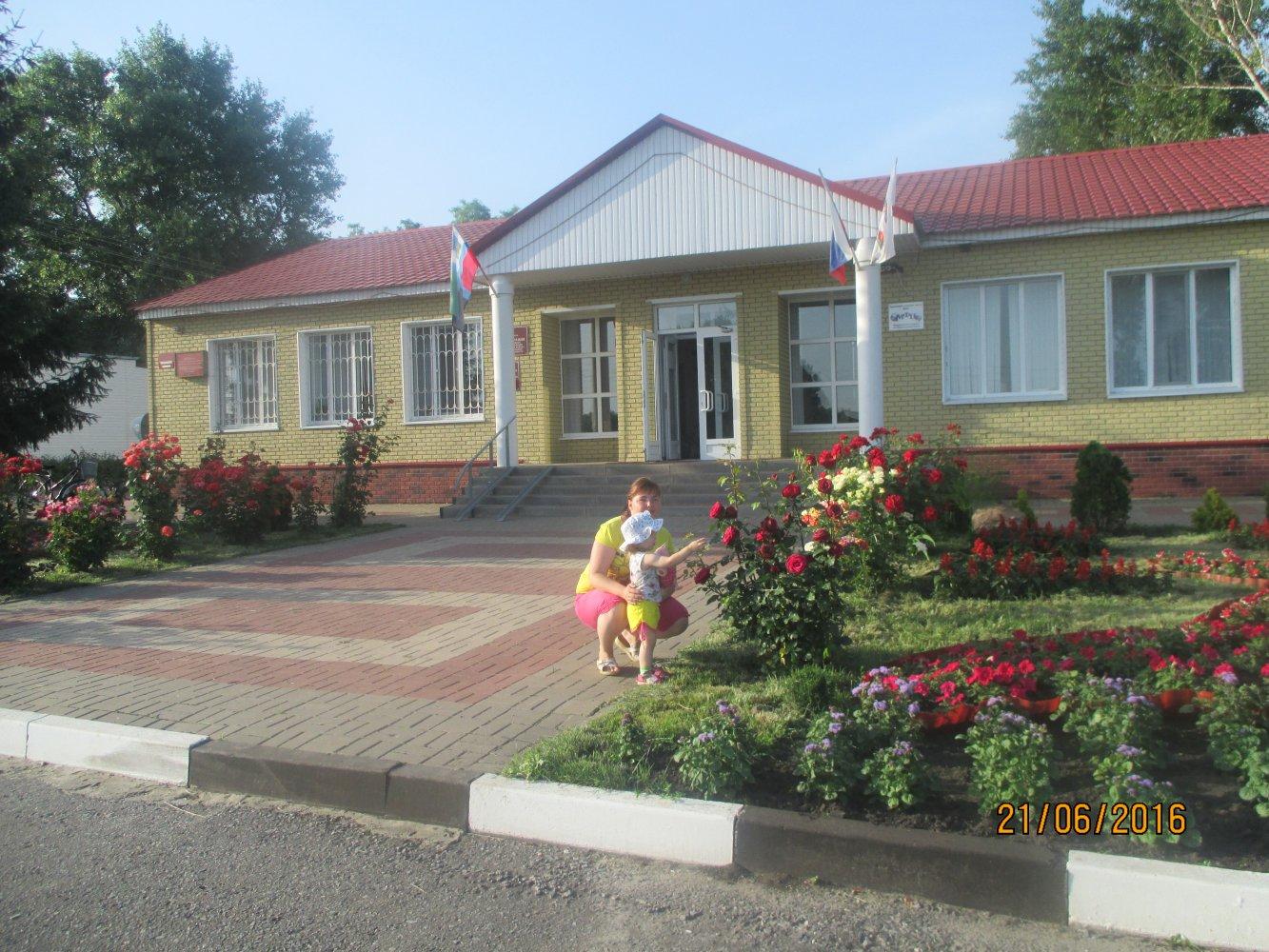 Фото Розы у администрации.JPG. Россия, Белгородская область, Р187