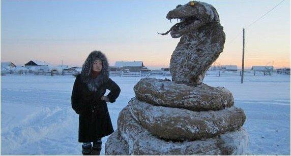 Фото Змея из навоза. Россия, Саха республика, Uolba, Р-504