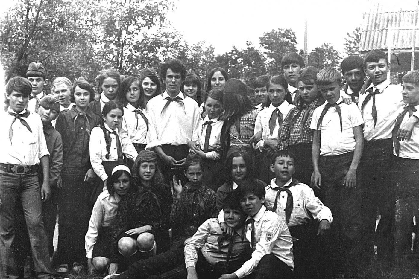 Фото П-лагерь МАТИ-1974.jpg. Россия, Московская область, Unnamed Road