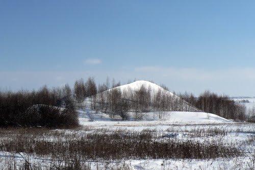 Фото Выработ.шахта в прос Комсомольский Скоп.р-на-2017.jpg. Россия, Рязанская область, Комсомольский, Unnamed Road