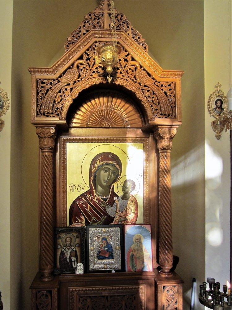 Фото В часовне Св. Николая Чудотворца.