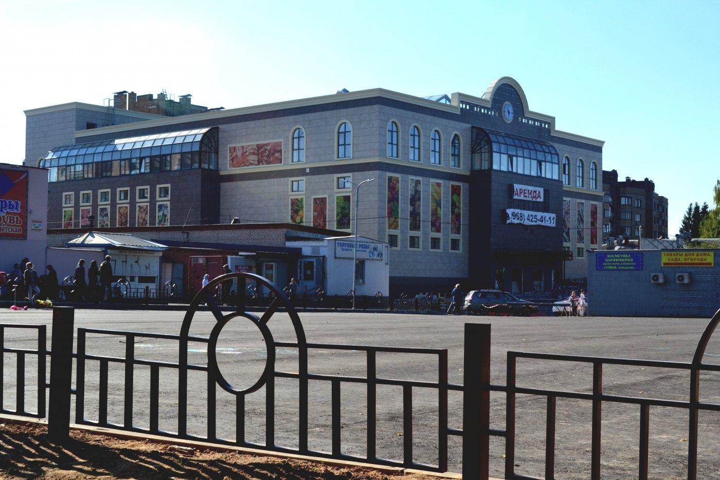 Фото Наверное будет крытый рынок. Россия, Московская область, Селятино, Больничная улица, 115
