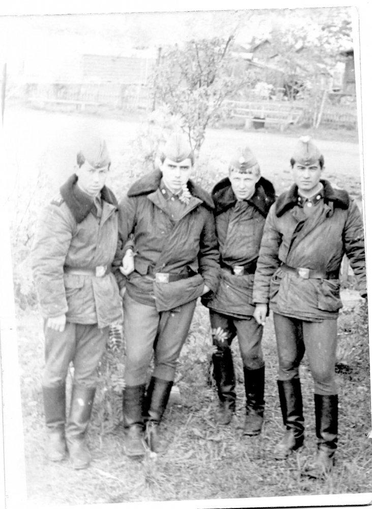 Фото вч 10529 г. Североморск, зима 1978 г. Россия, Мурманская область, город Мурманск, дорога Восточно-Объездная автодорога