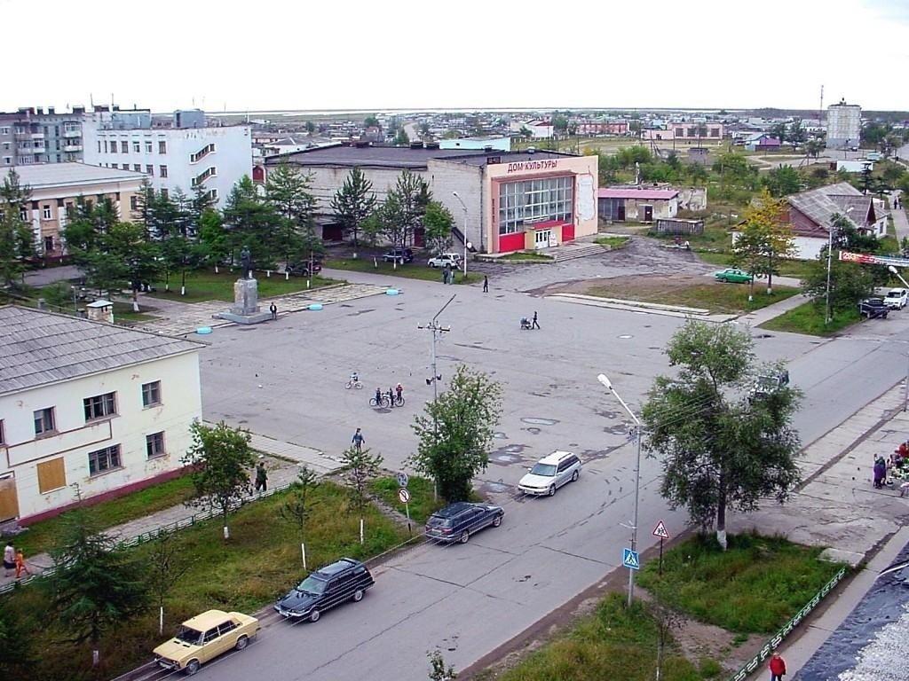 Фото 147359511011.jpg. Россия, Магаданская область, Ола, Октябрьская улица, 4