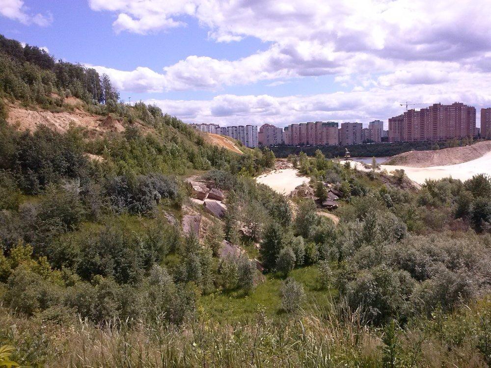 Фото Вид из окон строящихся Новых Котельников.