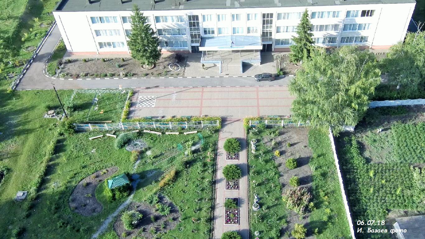 Фото Школьный двор. Россия, Белгородская область, Р187
