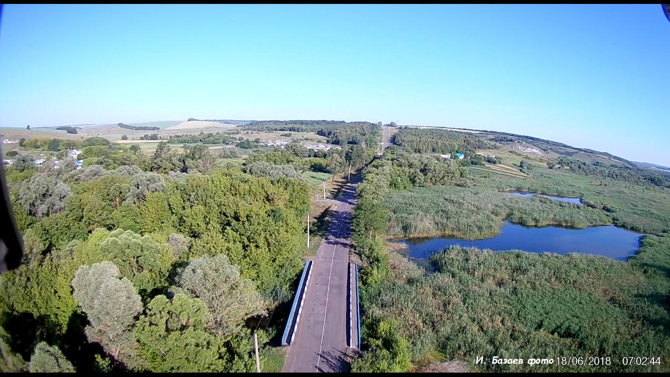 Фото Мост на выезде Пироговка. Россия, Белгородская область, Р187