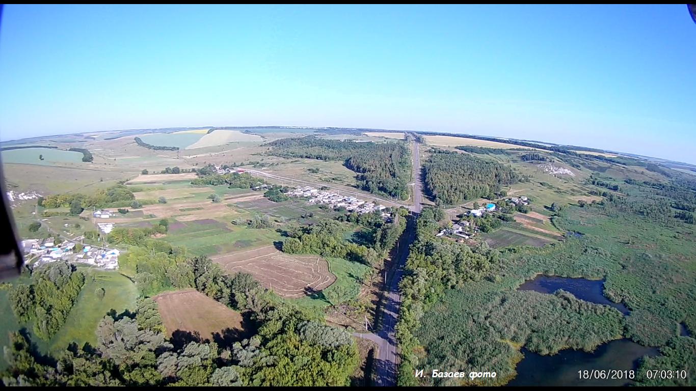 Фото Выезд из села. Россия, Белгородская область, Р187