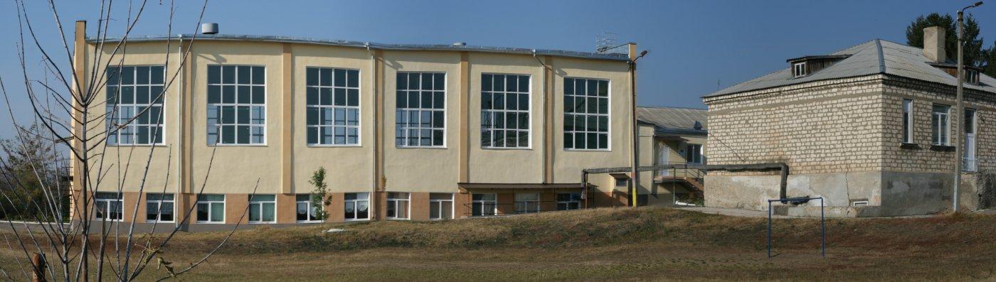 Фото панорама школьного двора.jpg. Молдова, Бендеры, улица Протягайловская