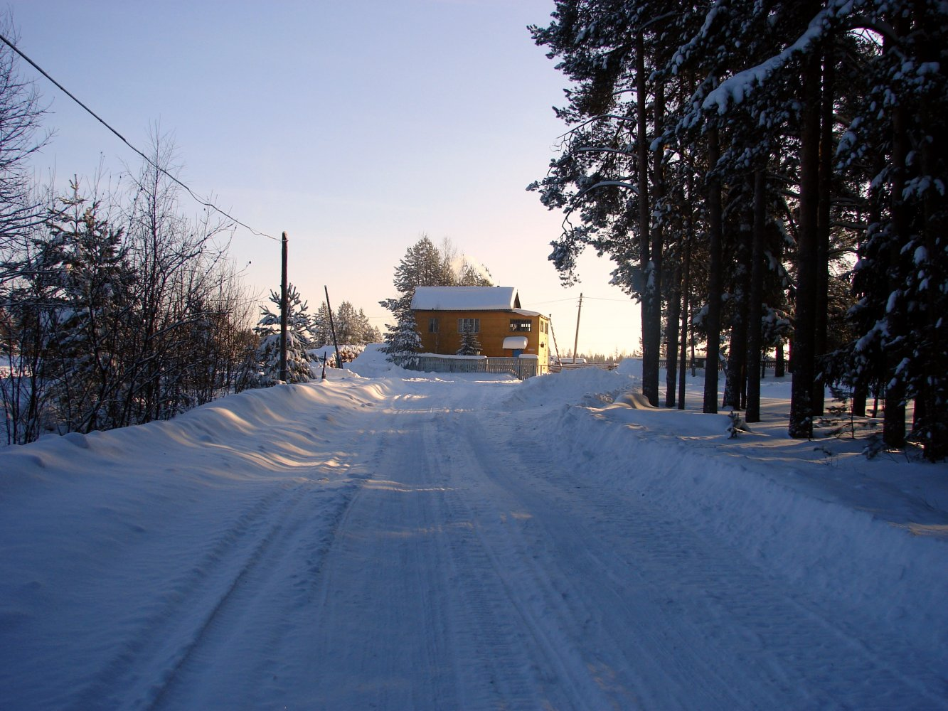 Фото DSC03965.JPG. Россия, Костромская область, Боровской, Unnamed Road