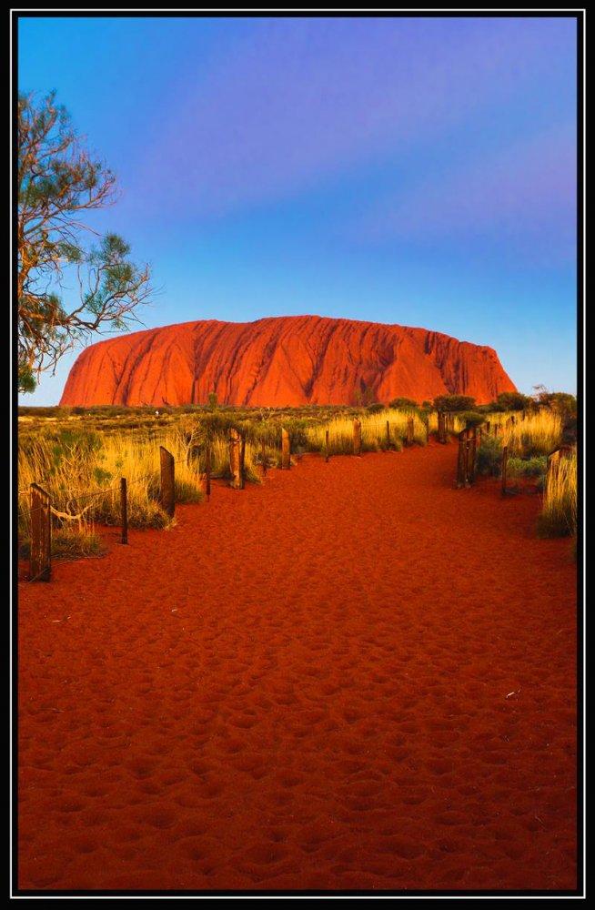 Фото 1617-1 (Copy).jpg. Австралия, Northern Territory, Uluru Summit Walk