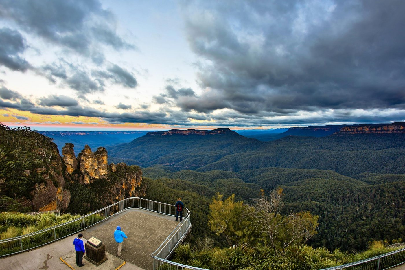 Фото 4676 (Copy).jpg. Австралия, New South Wales, Blue Mountains National Park, Hurley Heights Trail