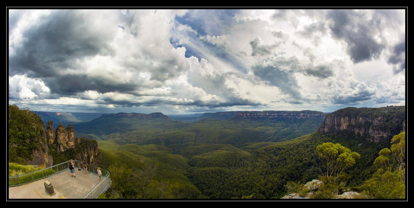 Фото 4820-23 (Copy).jpg. Австралия, New South Wales, Blue Mountains National Park, Hurley Heights Trail