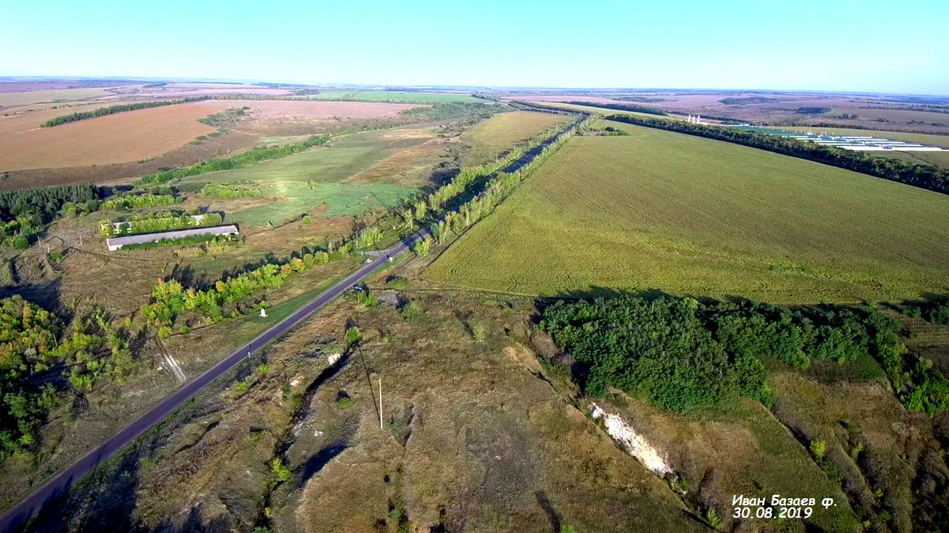 Фото выезд из села Белый Колодезь. Россия, Белгородская область, Р187