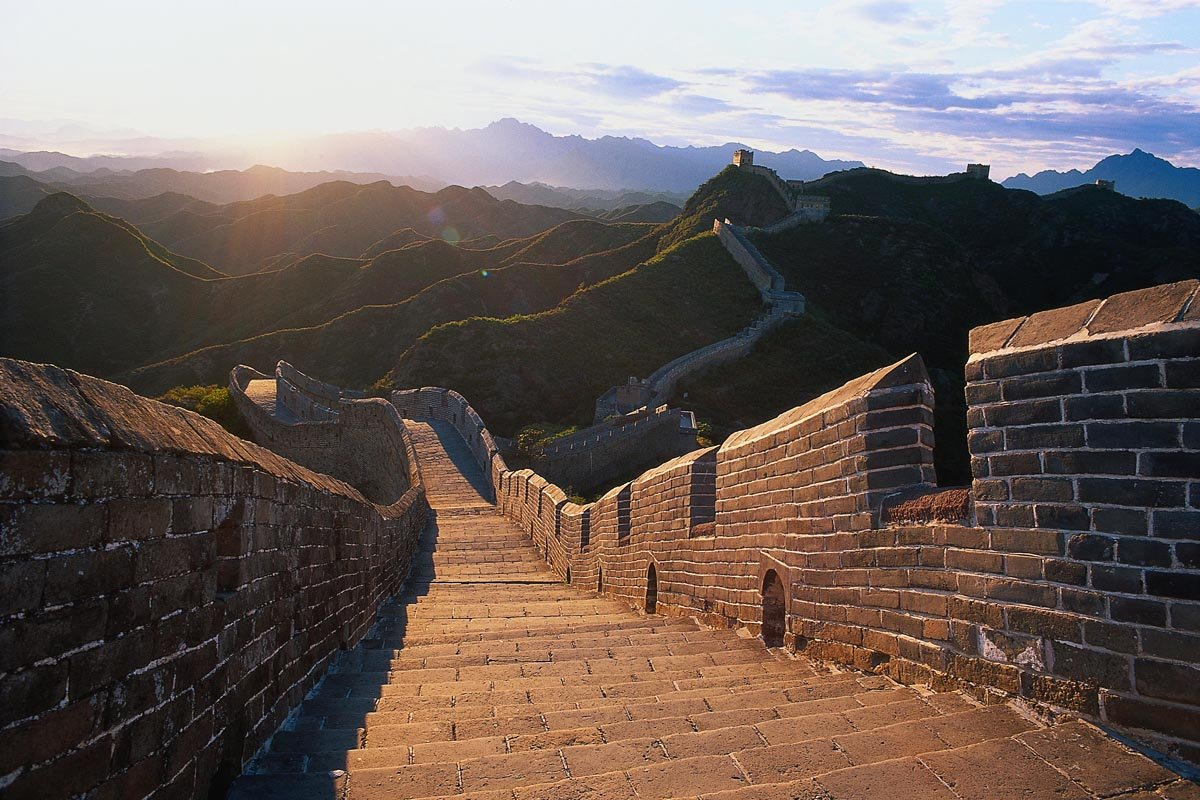 Фото На закате. Китай, Beijing Shi, Пекин, 216 Sheng Dao