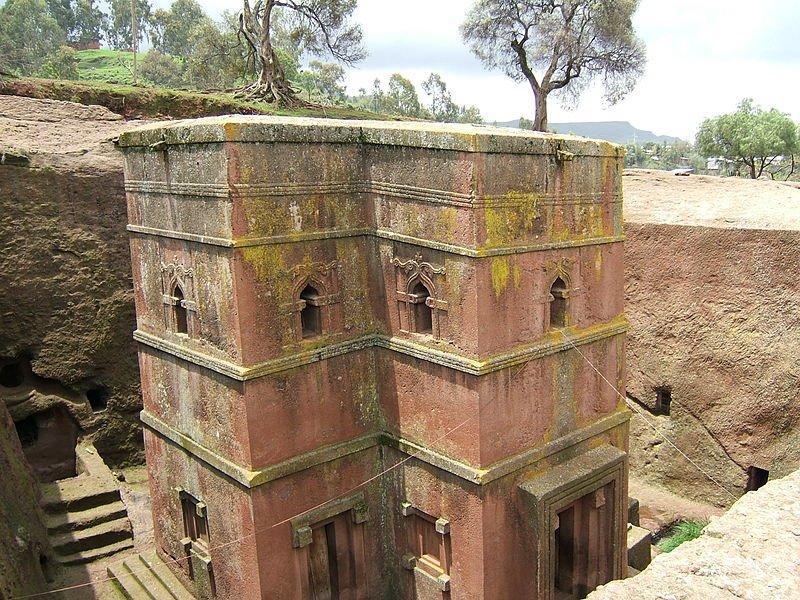 Фото Церковь Святого Георга. Эфиопия, Amhara, Lalibela