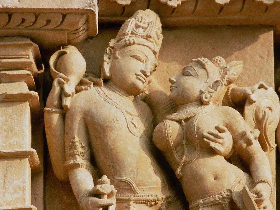 Фото Храм Любви. Индия, Madhya Pradesh, Khajuraho, Unnamed Road