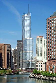 Фото Башня Трампа. Соединенные Штаты Америки, Illinois, Chicago, North Wabash Avenue, 401