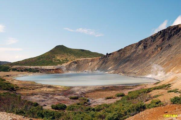 Фото озеро Кипящее.