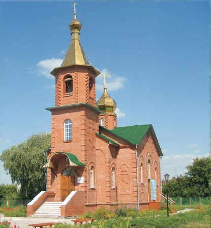 Фото Храм_tn.JPG. Россия, Омская область, Р402