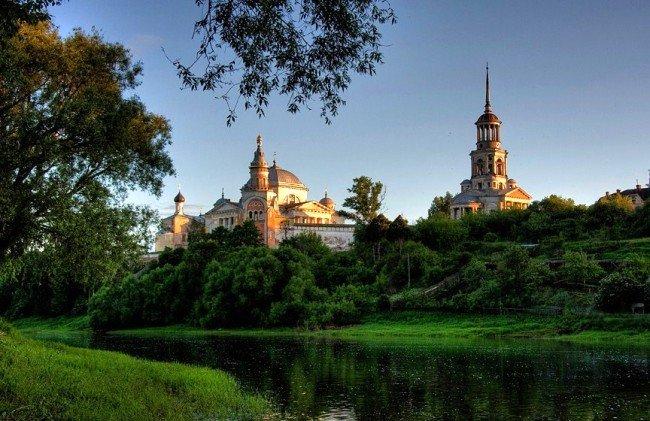 Фото Борисоглебский монастырь . Россия, Тверская область, Торжок, Старицкая улица, 9