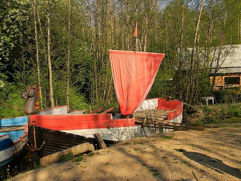 огоньки на лодку