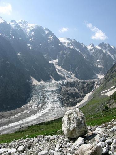 Фото Цейский ледник. Грузия, Рача-Лечхуми и Квемо-Сванети, Kutaisi-Alpana-Mamisoni Pass