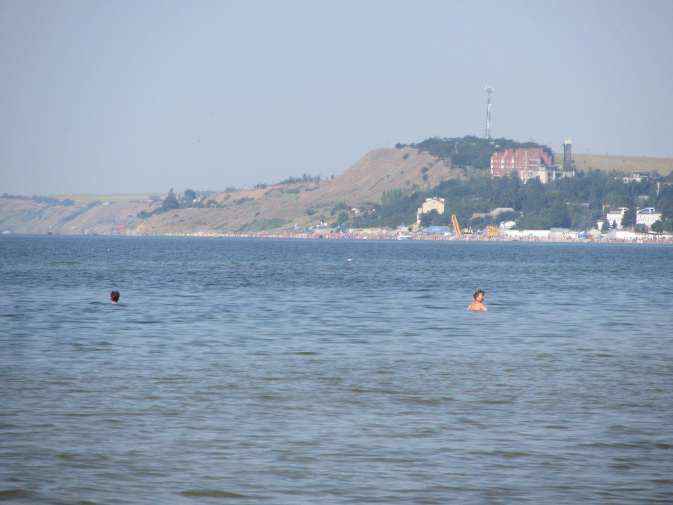 Урзуф азовское море фото пляжей