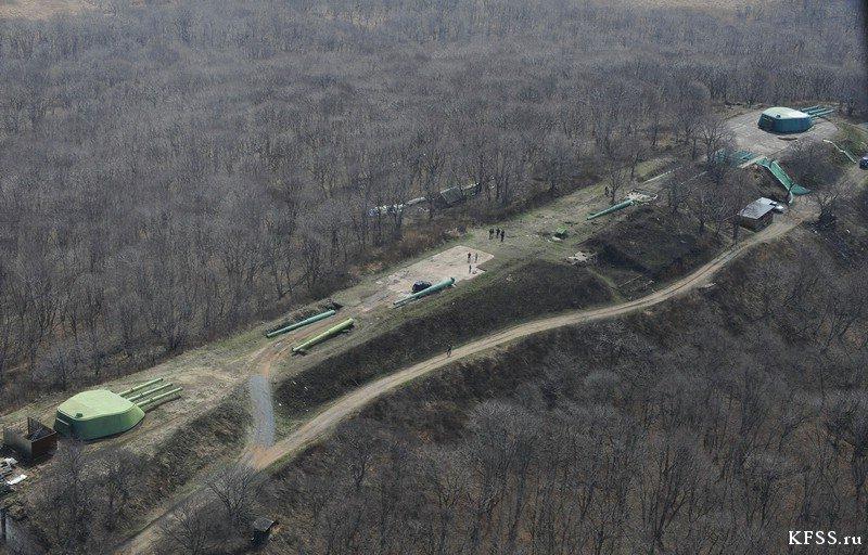 Фото фотография с воздуха. Россия, Приморский край, Русский, Unnamed Road