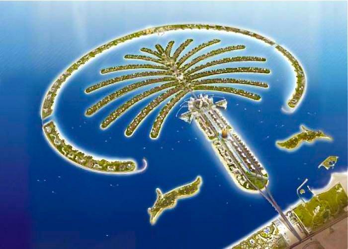 Фото остров пальма. Объединенные Арабские Эмираты, Дубай, The Palm Jumeira, Al Khalas