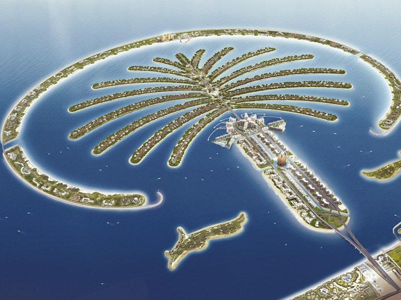 Фото пальма. Объединенные Арабские Эмираты, Дубай, The Palm Jumeira, Al Khalas