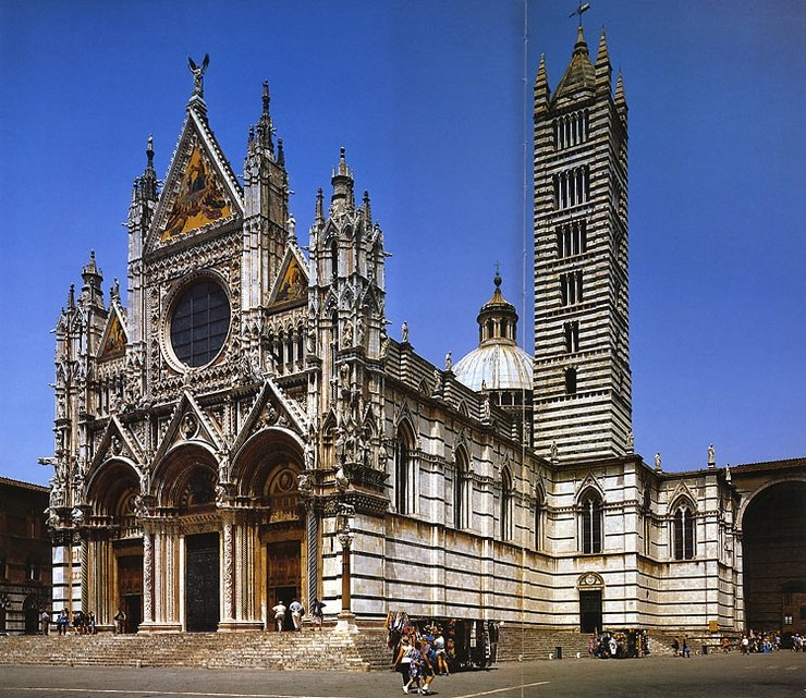 Фото Сиенский собор. Италия, Тоскана, Сиена, Via Fusari, 28