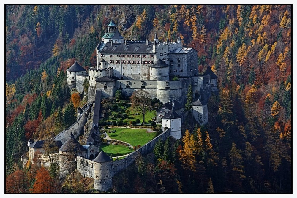 Фото Замок Хоэнверфен. Австрия, Зальцбург, Верфен, Бургштрассе, 2