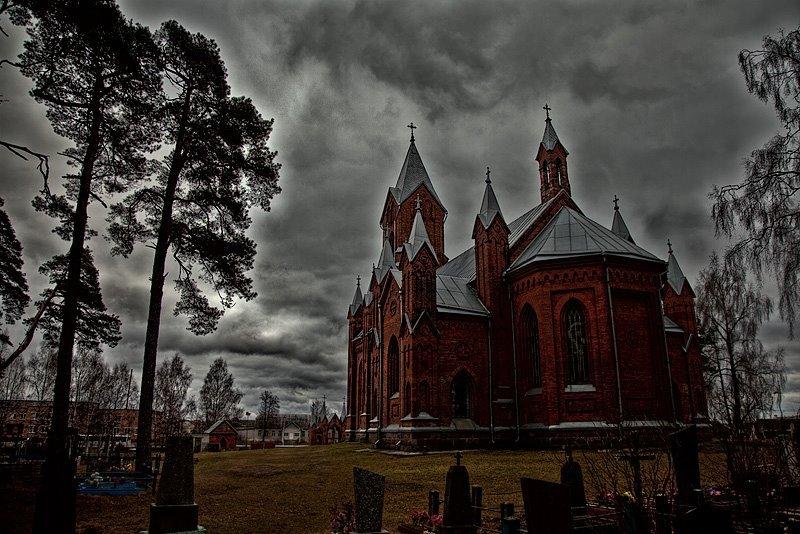 Фото Костел Святого Алексея. Беларусь, Минская область, Ивенец, Р54