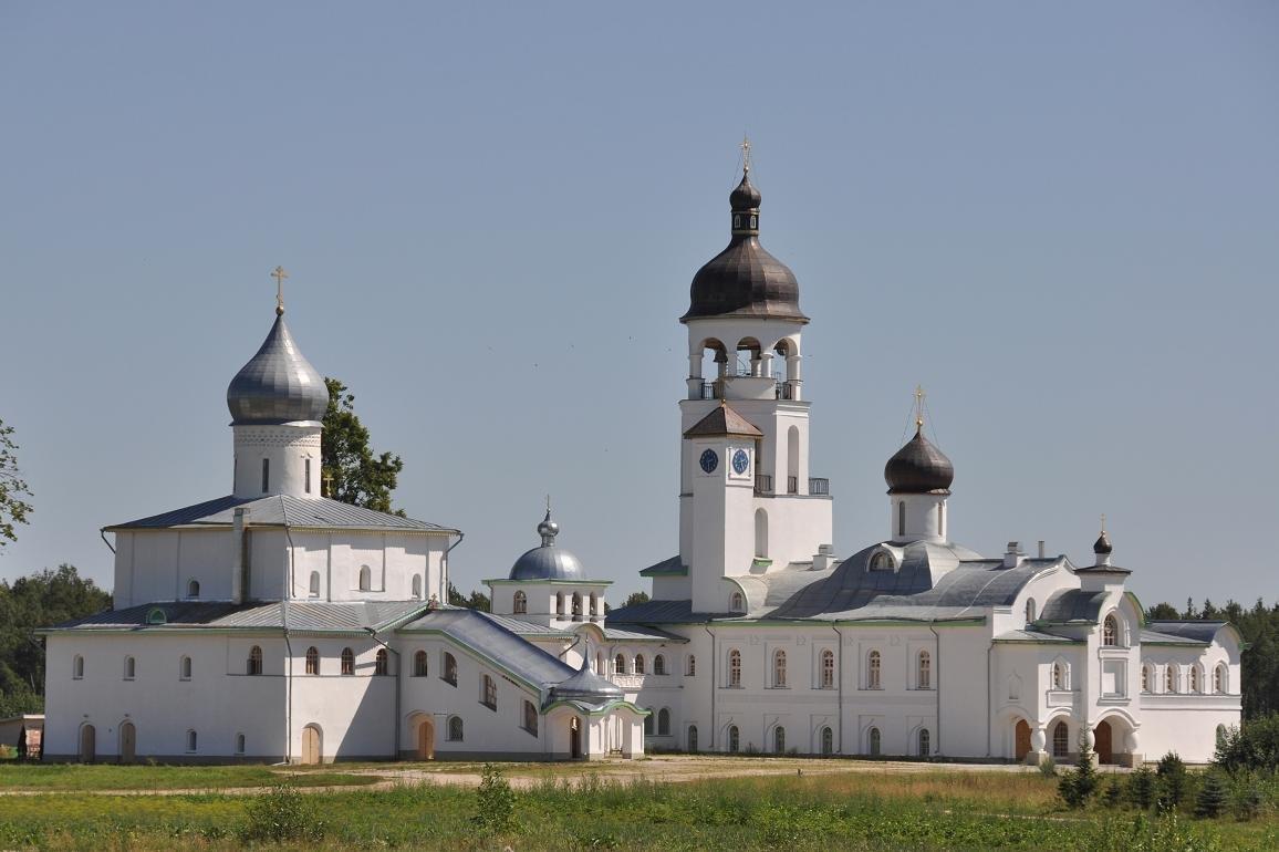 Фото Крыпецкий Иоанно-Богословский монастырь. Россия, Псковская область, Р60