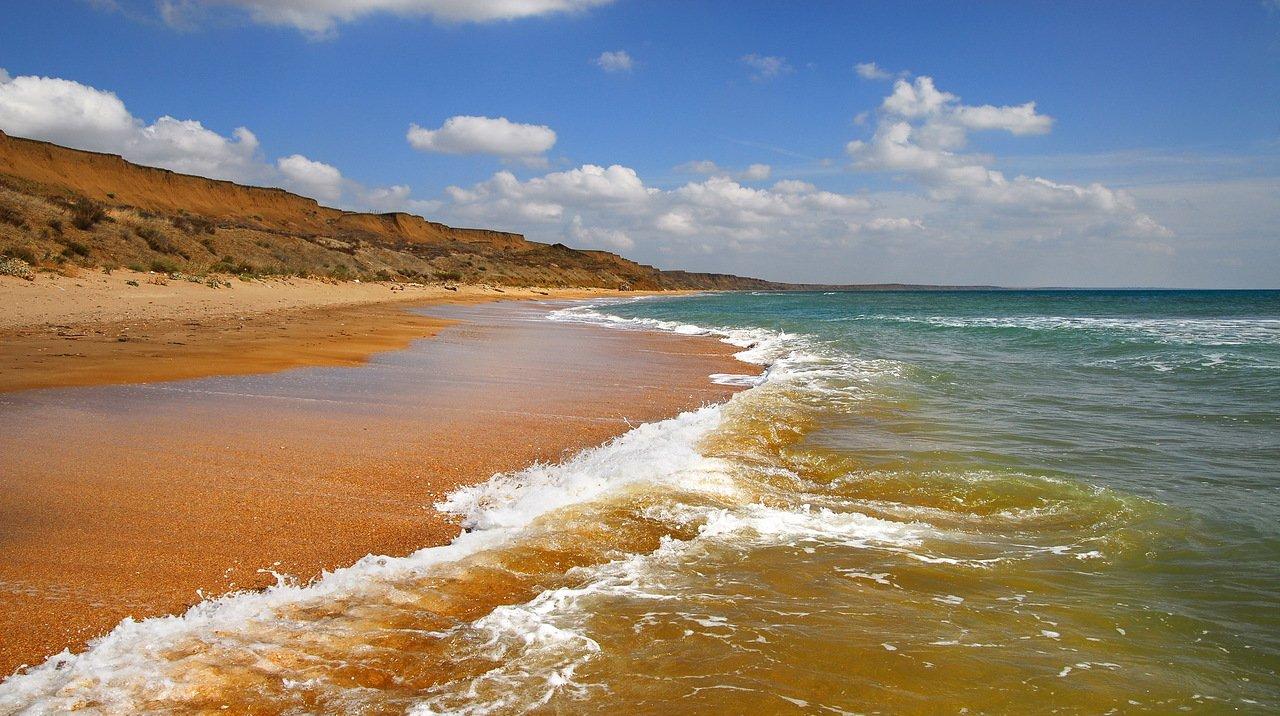 Песчанные пляжи крыма фото
