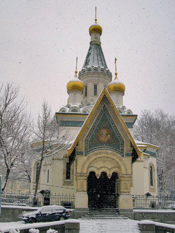 Фото Церковь Святителя Николая Чудотворца в Софии. Болгария, София-град, София, 3