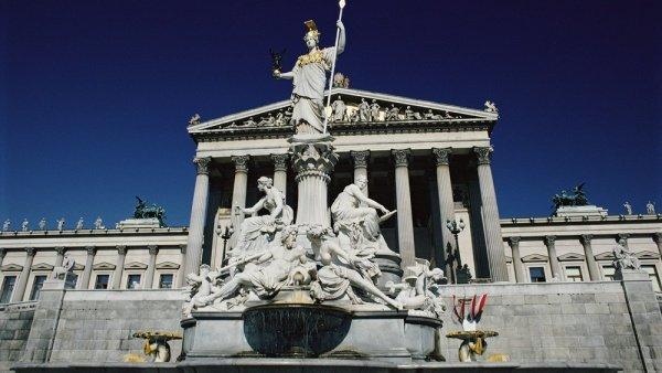 Фото парламент. Австрия, Вена, Райхсратсштрассе, 2
