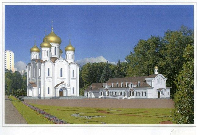 Фото Храм. Россия, город Москва, Пятницкое шоссе, 7