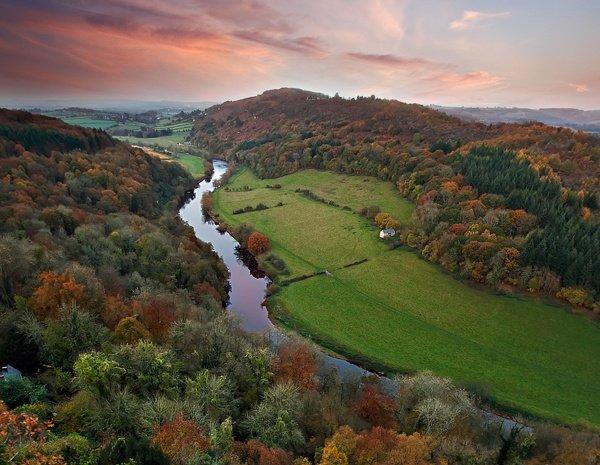 Wye valley где находится