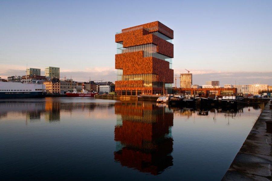 Фото Музей MAS, Антверпен, Бельгия. Бельгия, Фландрия, Антверпен, Hanzestedenplaats, 1