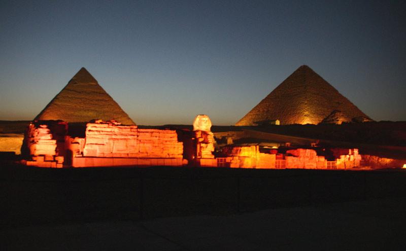 Фото Египетские пирамиды. Египет, Эль-Гиза, Al Ahram