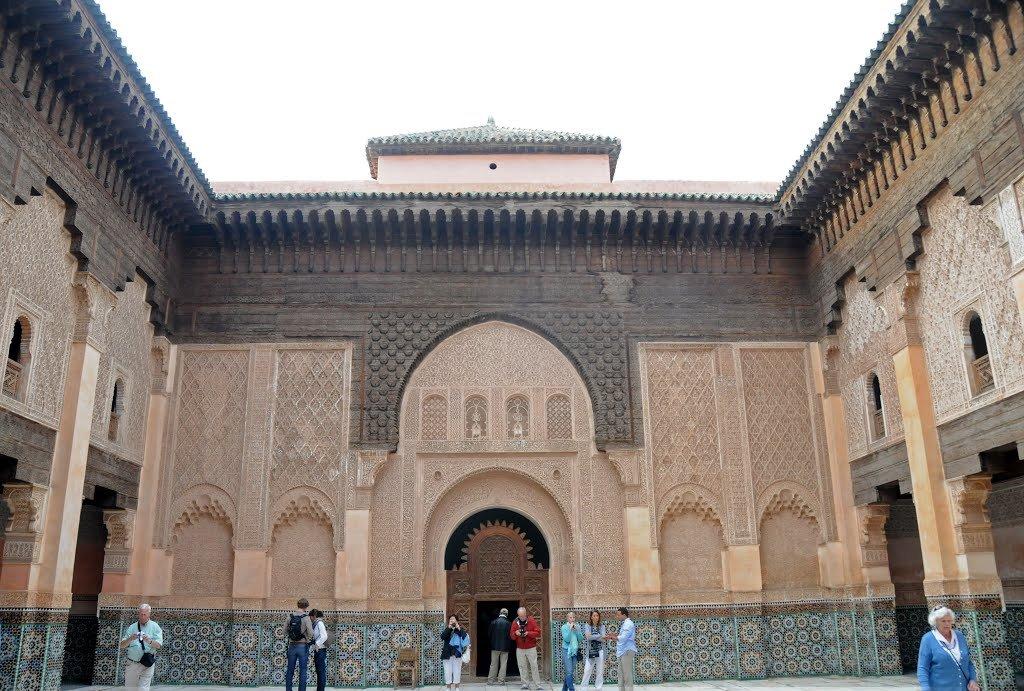 Фото Мечеть Муассин, Марракеш, Морокко. Марокко, Марракеш-Тенсифт-Эль-Хауз, Марракеш, Medina, Rue Fehl Chidmi